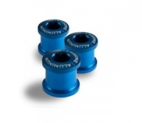 aerozine kit de 5 vis 5mm cheminees bleu