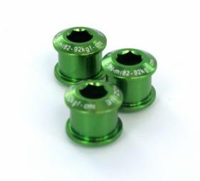 aerozine kit de 5 vis 7mm cheminees vert