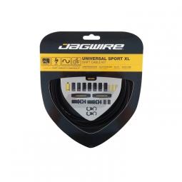 jagwire kit de cables et gaines pour derailleurs universal sport shift noir