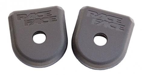race face paire de proteges manivelles carbone boot pedal gris