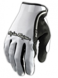 troy lee designs paire de gants longs xc blanc