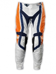troy lee designs pantalon gp air factory orange bleu