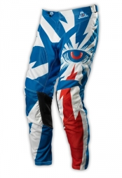 troy lee designs pantalon gp air cyclops bleu blanc
