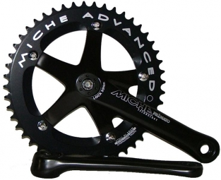 miche pedalier primato piste 165mm 46 dents noir