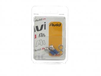 avid vis acier pour etrier ou adaptateur frein a disque x2