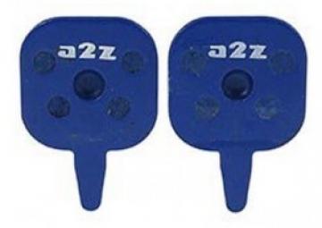 a2z paire de plaquettes organique pour freins tektro