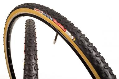 challenge boyau cyclo cross grifo 33mm noir beige