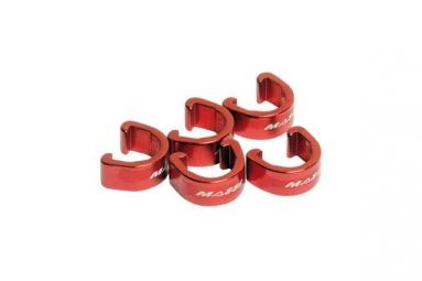 massi kit 5 clips durite sur cadre rouge
