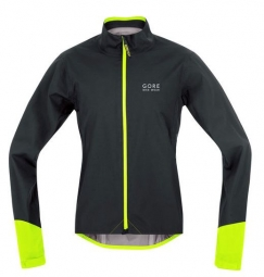gore bike wear veste power gore tex noir jaune