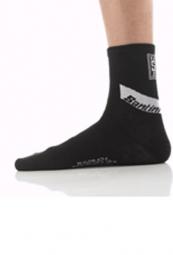 santini paire de chaussettes hiver primaloft noir