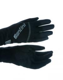 santini paire de gants h2 zero noir