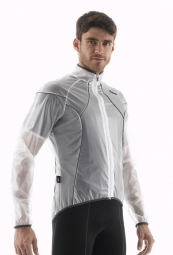 santini veste impermeable ice transparent