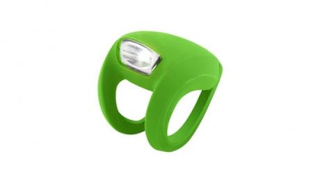 knog lampe avant frog strobe vert