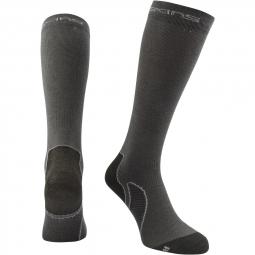 skins paire de chaussettes de recuperation gris