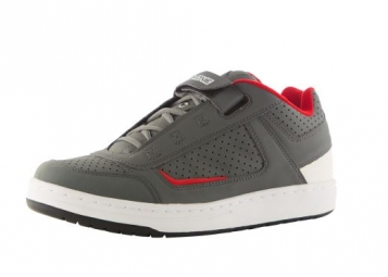 chaussures vtt 661 sixsixone filter spd gris rouge
