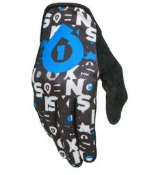 661 sixsixone 2014 paire de gants comp repeater noir bleu