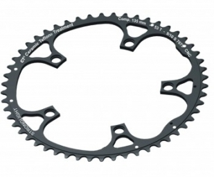 stronglight plateau exterieur campagnolo 135mm 52 dents ct noir