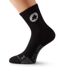 assos paire de chaussettes earlywintersocks s7 noir