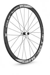 dt swiss roue avant rc38 spline boyau frein a disque carbone ud