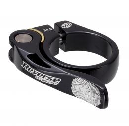 reverse collier de selle long life diametre 34 9 mm noir