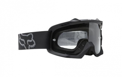 fox masque air space enduro noir ecran chrome