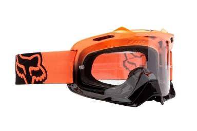 fox masque airspc orange noir orange transparent