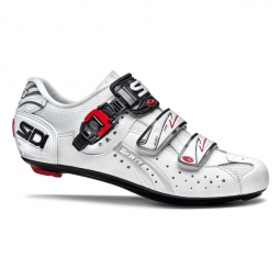 chaussures route sidi genius 5 fit carbon blanc