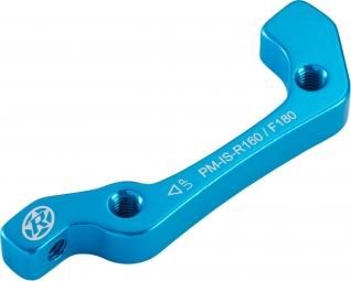 reverse adaptateur frein is pm av 180mm ar 160mm bleu anodise