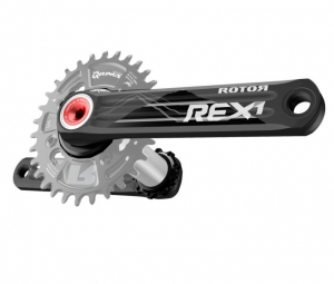 rotor pedalier rex 1 1 mono bb30 76mm bcd