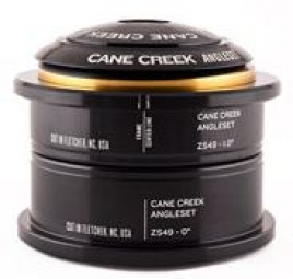 cane creek jeu de direction angleset semi integre 49mm reducteur 1 1 8 noir