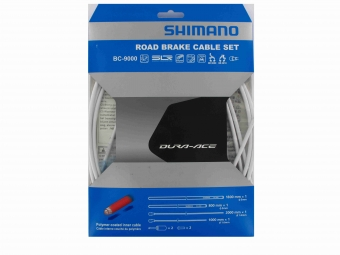 shimano kit cables et gaines frein dura ace 9000 blanc
