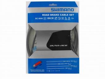 shimano kit cables et gaines frein dura ace 9000 gris