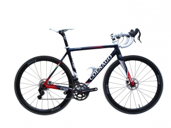 colnago 2013 velo complet a disques c59 disc campagnolo eps bleu