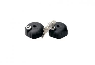 thule kit 2 molettes verrouillables avec ecrous ref 526