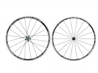 fulcrum paire de roues racing 5 lg pneus noir blanc corps shimano sram