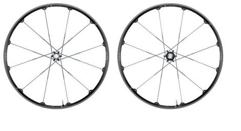 crankbrothers paire de roues iodine 3 29 axes 15 20mm 9x135 12x142 noir argent