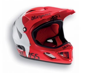 casque integral bluegrass brave rouge