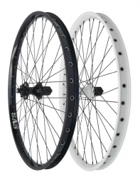 halo roue arriere 26 sas 6 drive spin doctor 36 rayons 9mm qr blanc
