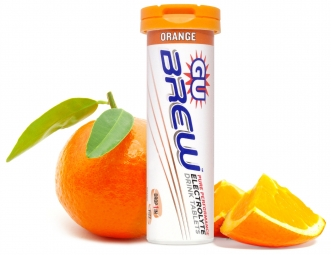 gu 12 pastilles effervescentes brew electrolyte gout orange