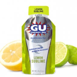 gu gel energetique gout citron intense