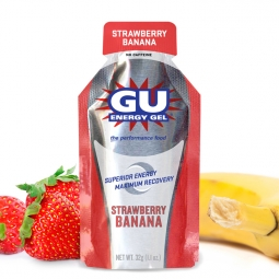 gu gel energetique gout fraise banane