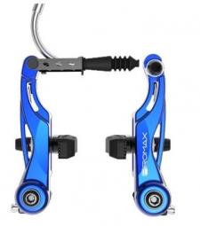 promax etrier de frein v brake mini 85mm bleu