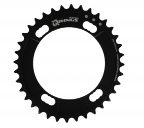 rotor plateau route q rings interieur 110mm pour shimano 9000