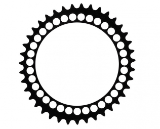 rotor plateau route q rings triple 40 dents 130mm bcd noir