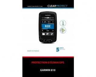 clearprotect film de protection pour garmin 810