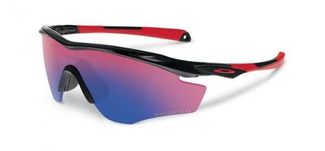 oakley lunettes m2 frame rouge iridium polarises oo9212 06