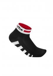 zero rh paire de chaussettes ergo noir blanc rouge