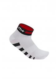 zero rh paire de chaussettes ergo blanc rouge noir