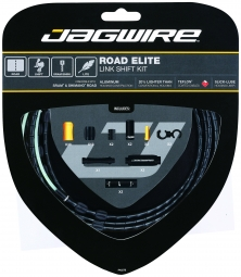 jagwire kit complet cables gaines road elite link freins noir