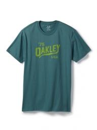 oakley tee shirt legs bleu
